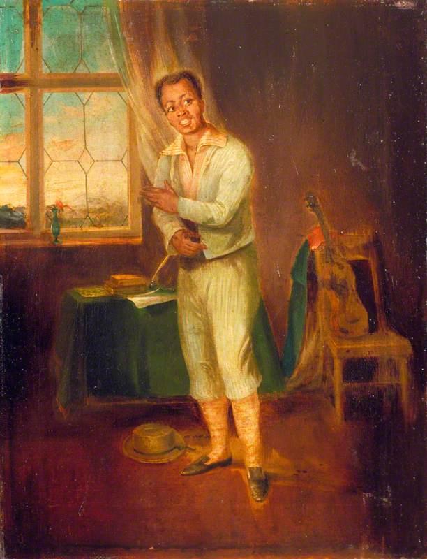 Ira Aldridge (1807–1867), as Mungo in 'The Padlock' by Isaac Bickerstaffe
