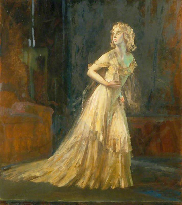 Vivien Leigh (1913–1967), as Blanche Dubois in 'A Streetcar Named Desire' by Tennessee Williams