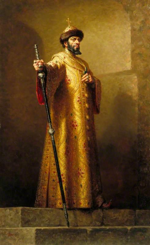 Boris Christoff (1914–1993), as Boris Godunov in 'Boris Godunov' by Modest Mussorgsky