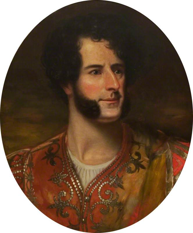 John Langford Pritchard (1799–1850), as Duke Aranza in 'The Honeymoon' by John Tobin