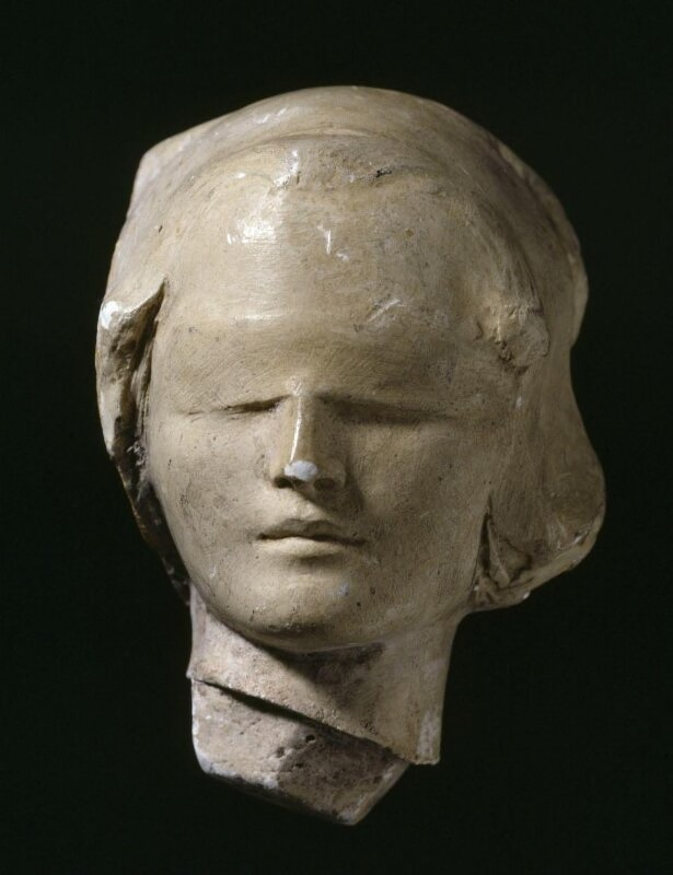 Female Head Blindfolded (perhaps the 'Old Testament')
