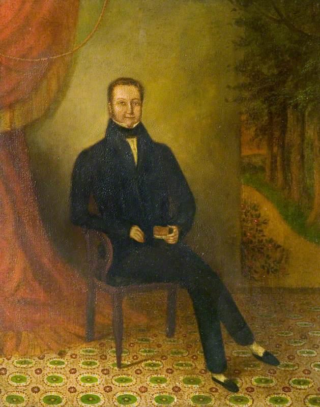 Mr Congreve, Founder Member of the Zionist Baptist Chapel, Bedworth, Warwickshire