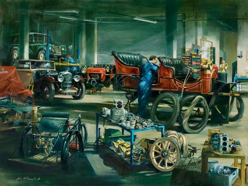 The Vehicle Workshop, Heritage Motor Centre