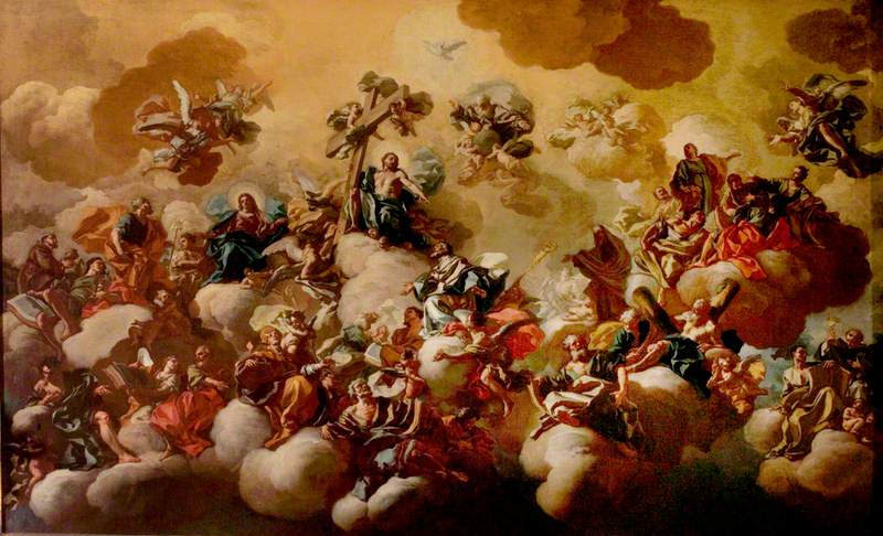 Saint Nicholas of Bari Received into Paradise