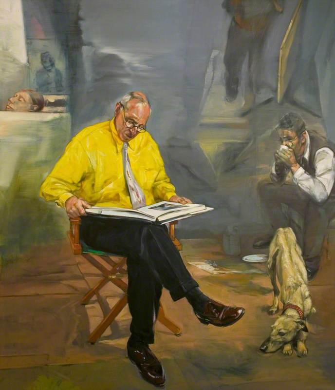 Adrian Spaak Looking at Degas