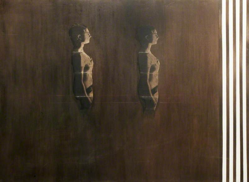 Two Figures Standing