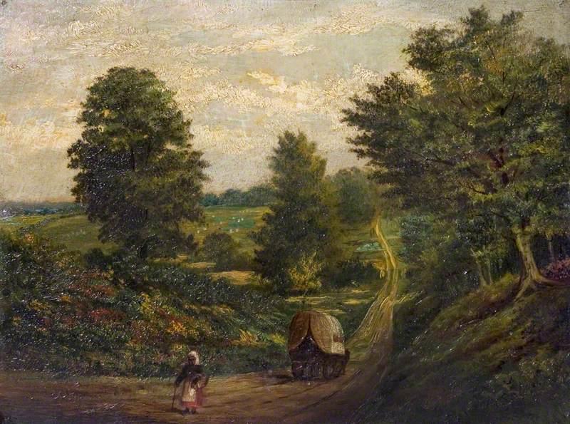 Hollow Lane near Stoneleigh, Warwickshire