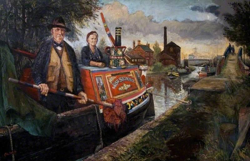 Rose and Joe Skinner, the Last of the Midlands Narrow Boat Folk
