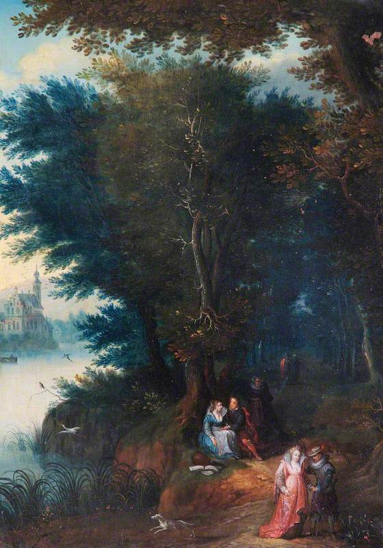 Landscape with River Walk