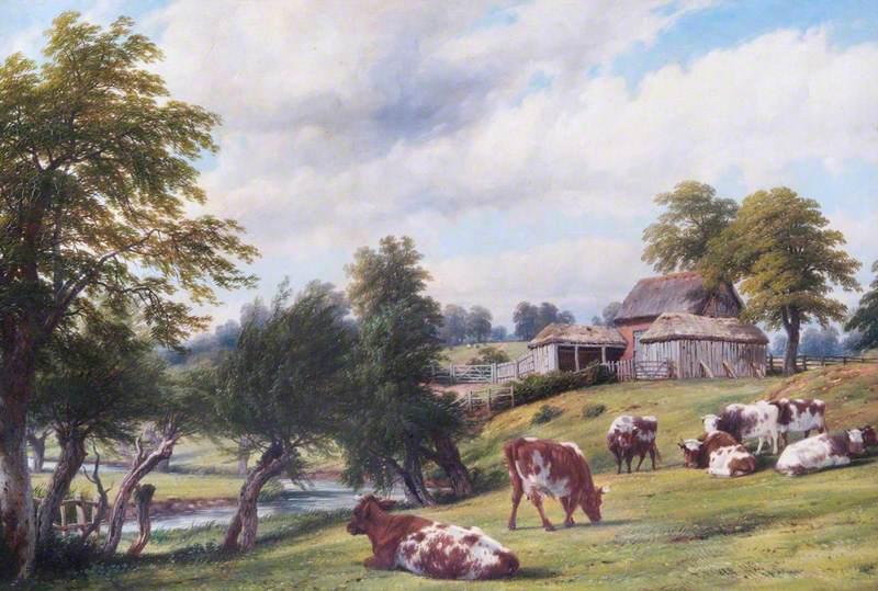 Saggy's Barn on Oldham's Farm