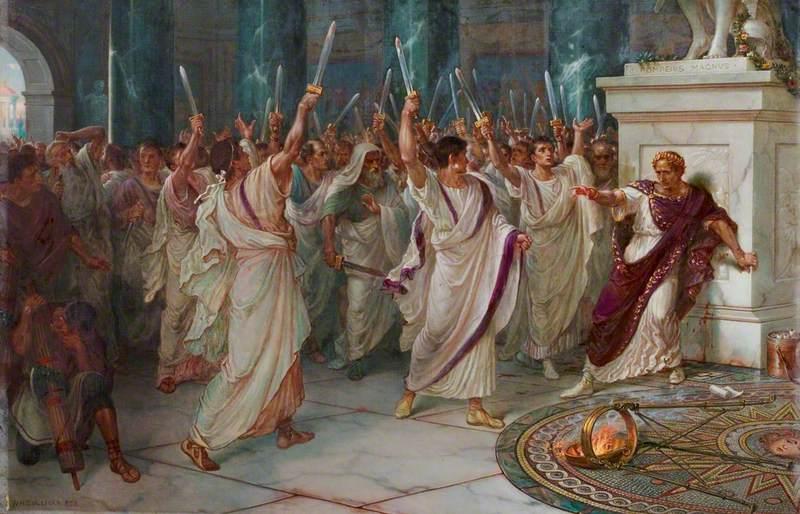 'Julius Caesar', Act III, Scene 1, the Assassination