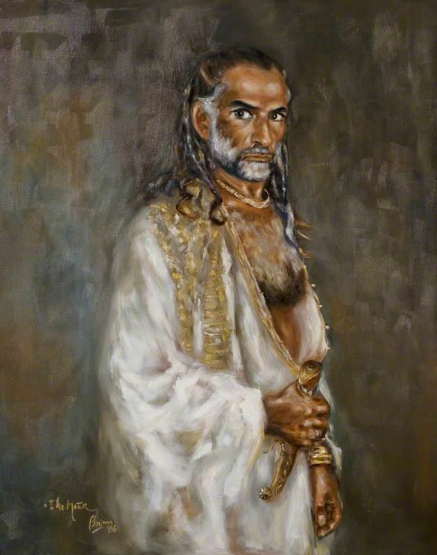 Ben Kingsley (b.1943), as 'The Moor'