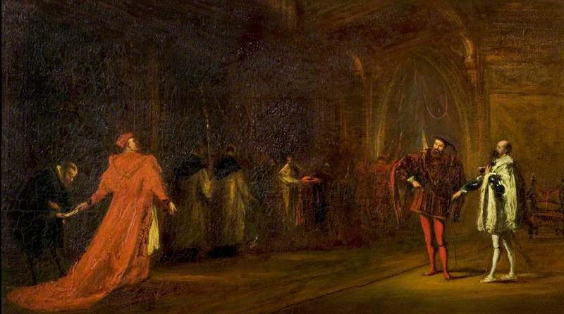 'Henry VIII', Act I, Scene 1, Cardinal Wolsey and Buckingham