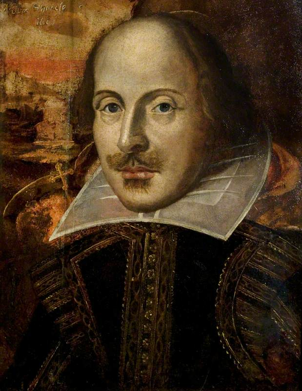 The Flower Portrait of William Shakespeare (1564–1616)