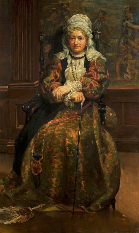 Mrs Stirling (1815–1895) (Lady Hutton Gregory) as the Nurse
