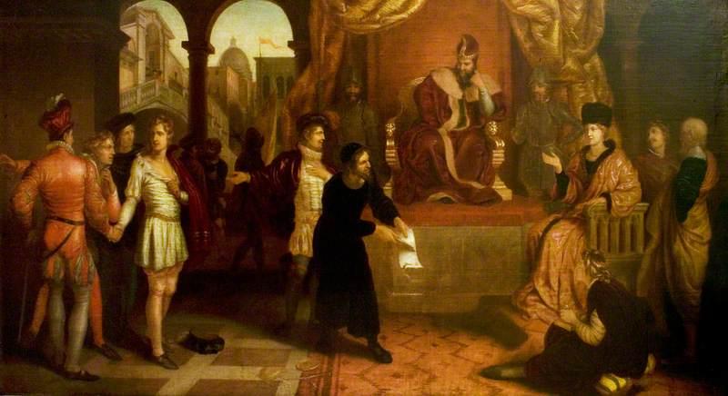 'The Merchant of Venice', Act IV, Scene 1, the Trial Scene