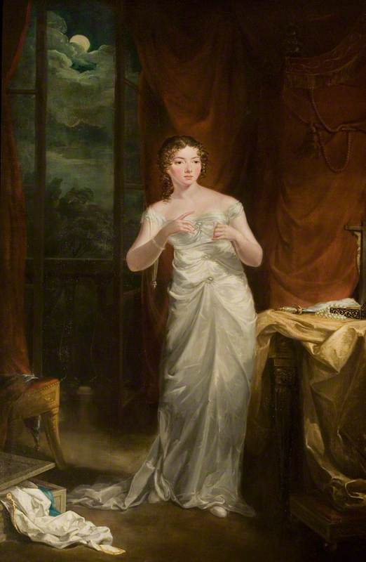 Sally Booth (1793–1867), as Juliet