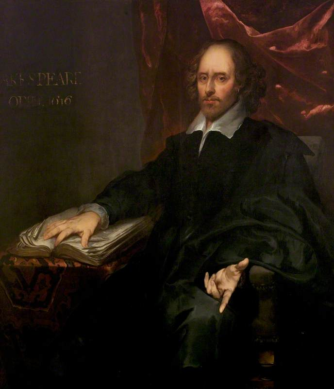 The Chesterfield Portrait of William Shakespeare (1564–1616)