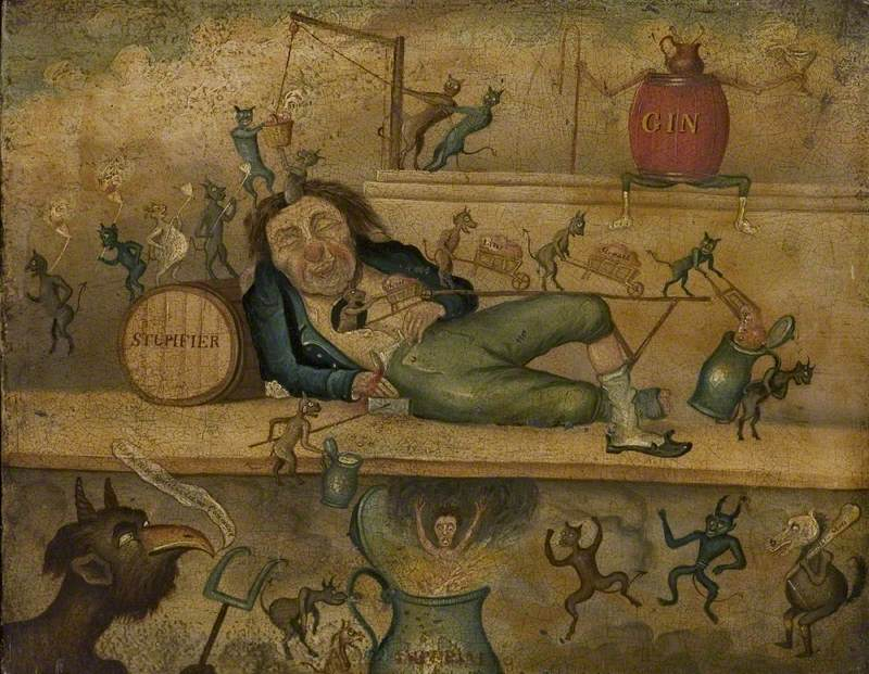 Allegory of Drink: Effects of Intemperance