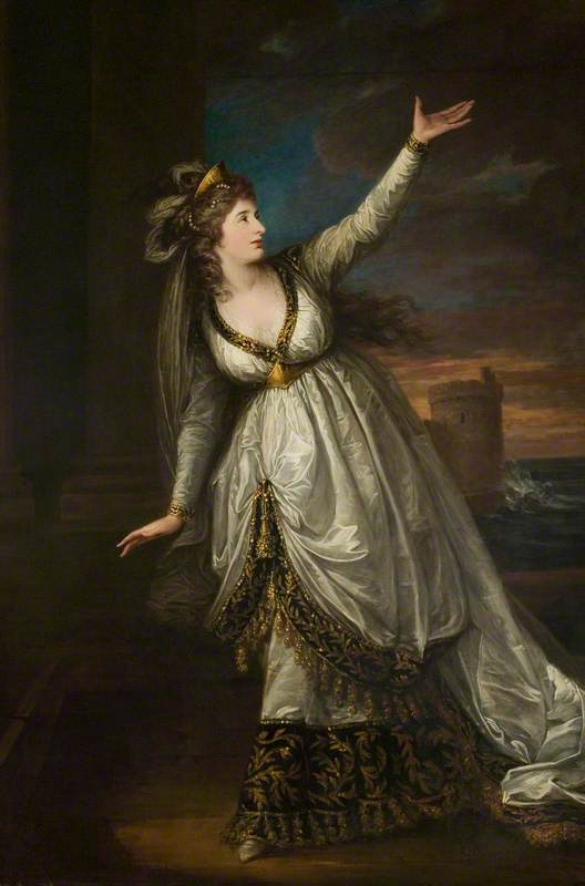 Mrs Sarah Siddons (1755–1831), as Euphrasia
