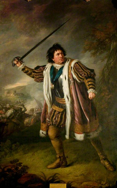 David Garrick (1717–1779), as Richard III