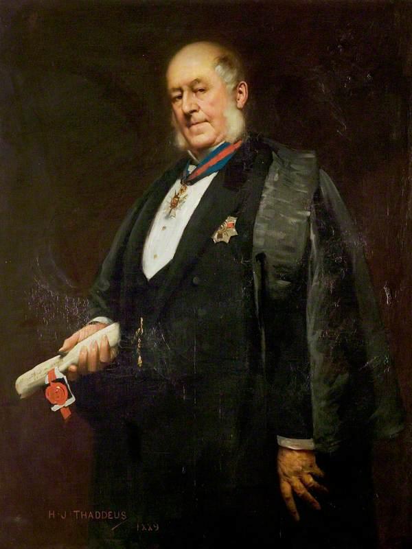 Sir Arthur Hodgson, KCMG, DL, JP, Mayor (1883–1888), High Steward (1896–1902)