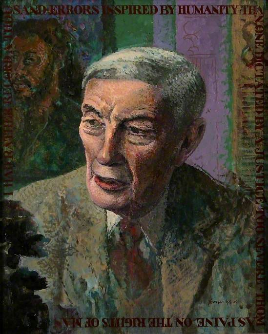 Study for 'Lord Scarman (1911–2004), Chancellor of the University (1977–1989)'