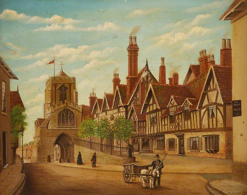 West Gate and Lord Leycester's Hospital, Warwick