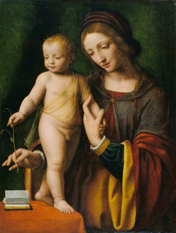 The Virgin and Child with a Columbine