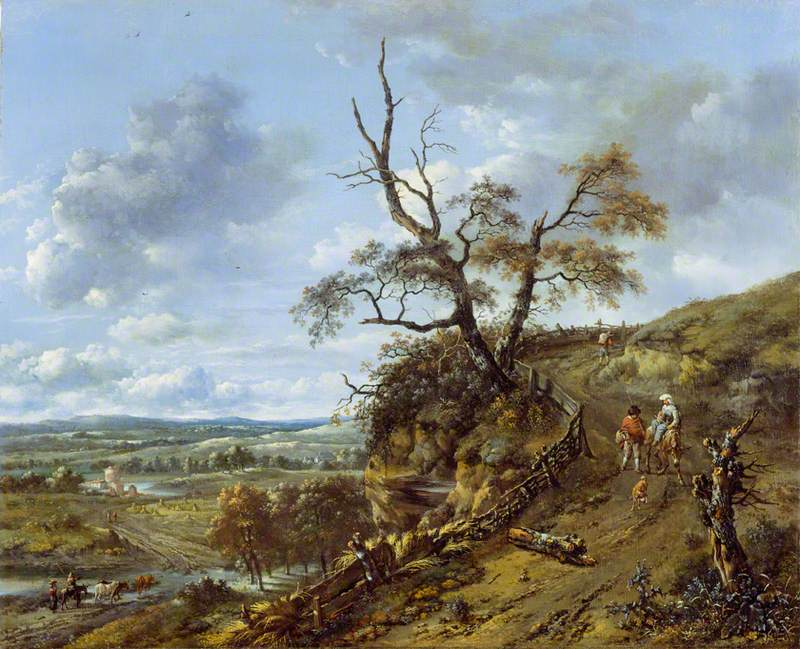 Landscape with a Bare Tree