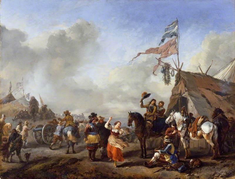 A Camp Scene