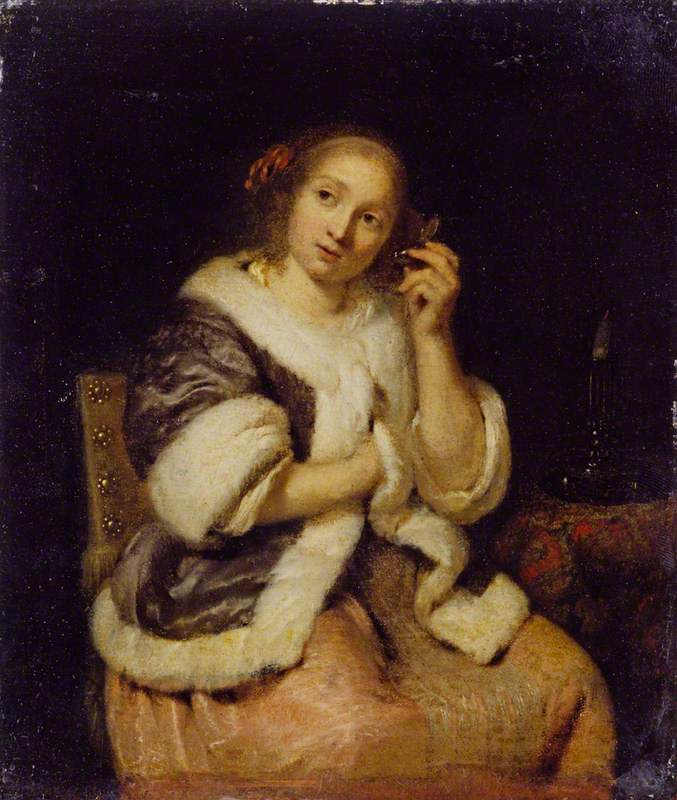 Lady with a Watch