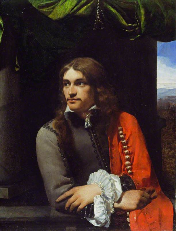 Portrait of Man (possibly Jean Deutz), with a Red Cloak