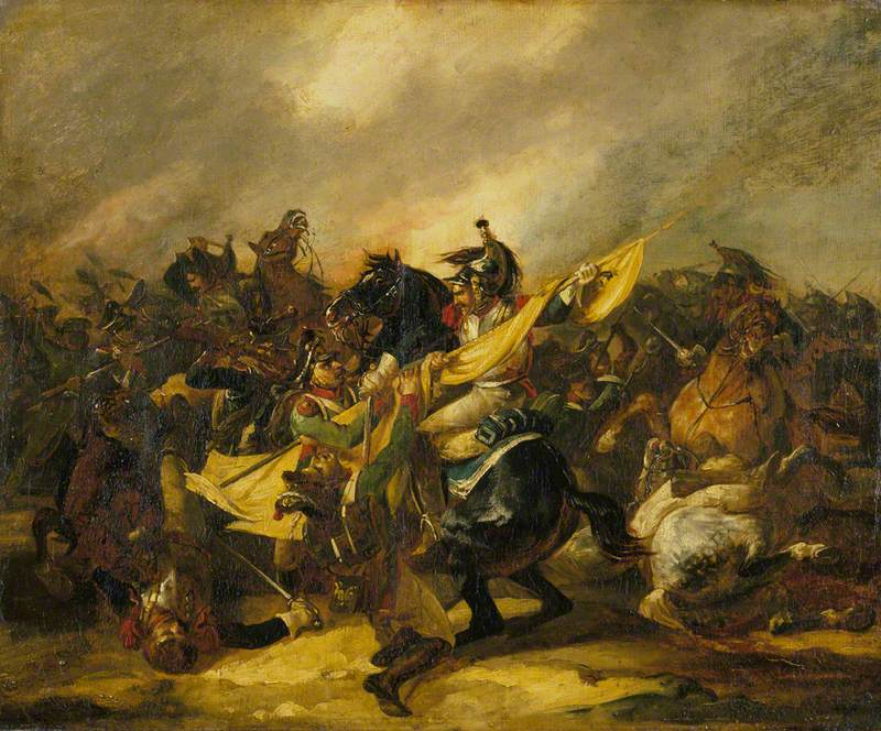 A Charge of Cuirassiers