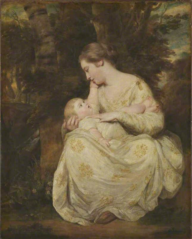 Mrs Susanna Hoare and Child