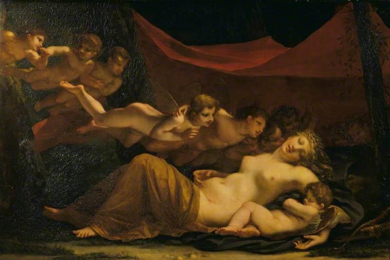 The Sleep of Venus and Cupid