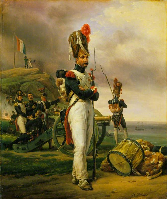 A Grenadier of the Guard at Elba