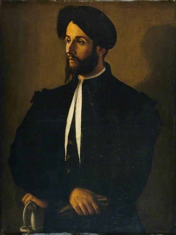 Portrait of a Man in Black
