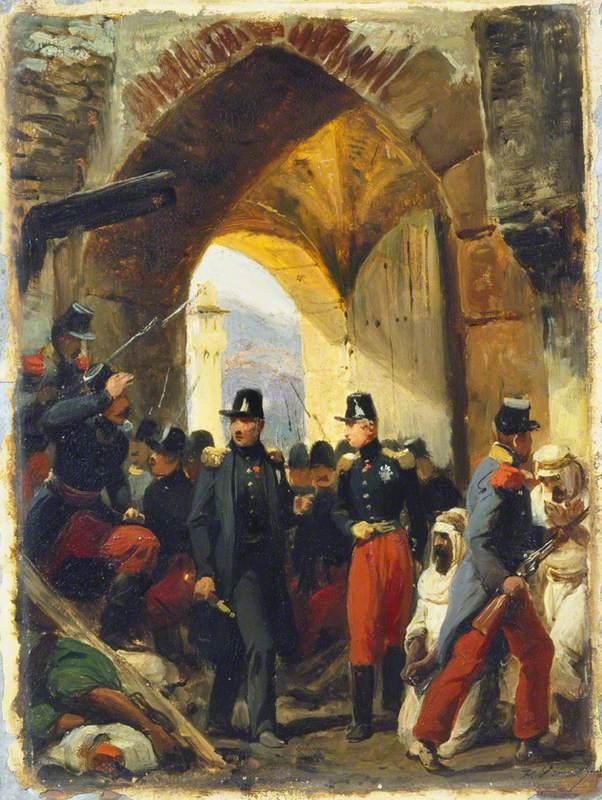 The duc de Nemours Entering Constantine
