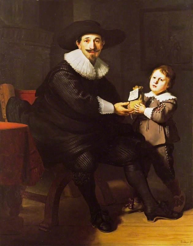 Jean Pellicorne with His Son Caspar