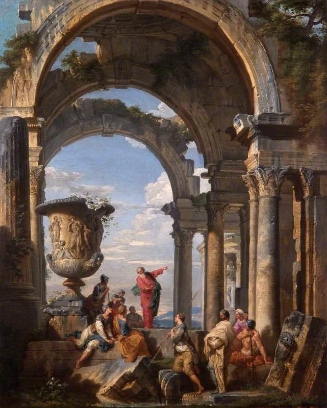 Saint Paul Preaching at Athens