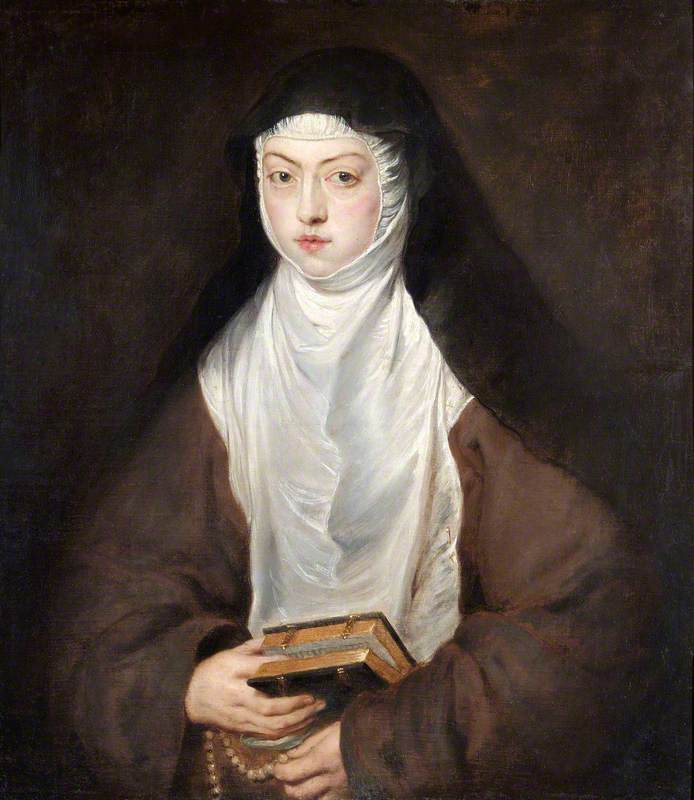 Ana Dorotea, Daughter of Rudolph II, a Nun at the Convent of the Descalzas Reales, Madrid