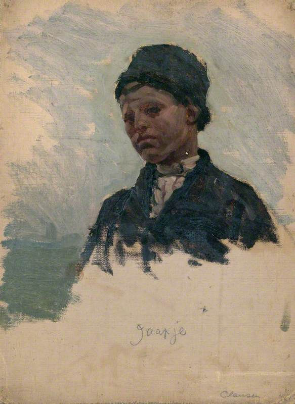 Study of Dutch Peasant Boy, 'Jaapje'