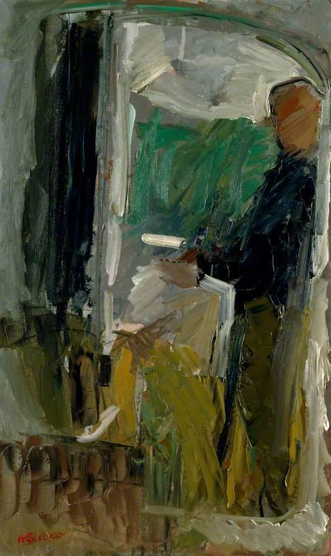 Self Portrait (In Studio Mirror)