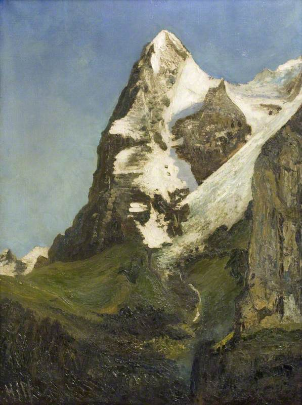 The Eiger, near Mürren