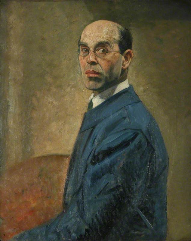 Self Portrait – Principal, 1925–1930