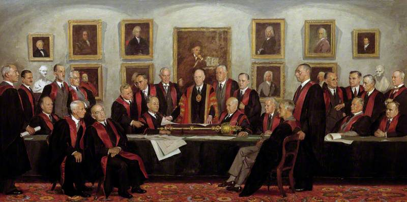 Council of the College, 1946–1947
