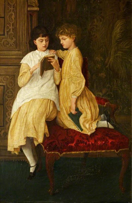May and Jenny Morris at Naworth Castle