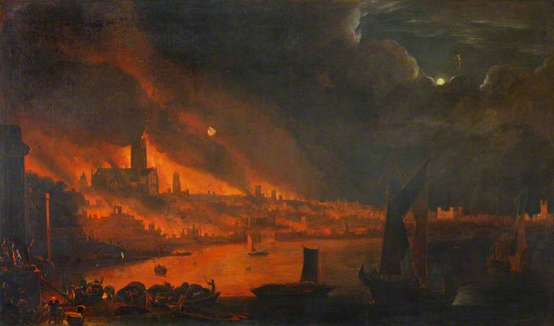 Fire of London, 1666