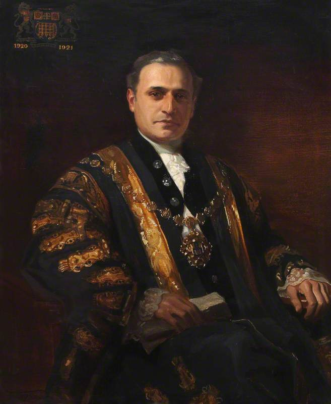 Councillor Samuel Gluckstein, Mayor of Westminster (1920–1921)